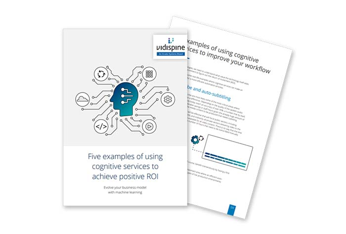 Download Whitepaper: Five examples of using cognitive services to achieve positive ROI